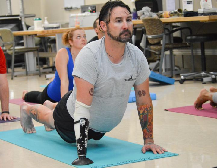 Yoga Clinic WRNMMC 2014-6.05.29